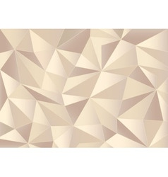 Abstract paper triangles 3d background vector image