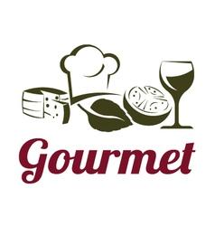 Gourmet cuisine vector