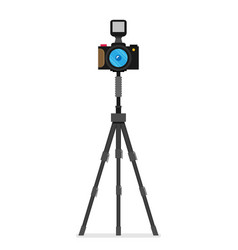 photo camera modern minimal flat design style vector image