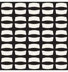 Ribbon monochrome seamless pannern vector