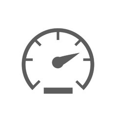 Speed icon vector image