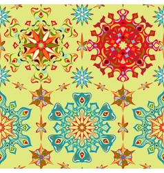 Abstract bright seamless pattern vector image vector image