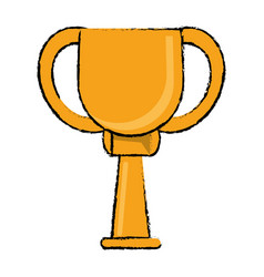Award cup sport win vector