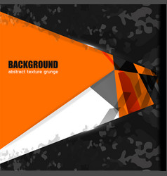 background texture geometric orange vector image
