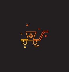 Business buy cart ecommerce shopping icon desige vector