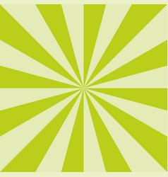 green sunburst spring art texture design vector image