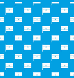 indian flag pattern seamless blue vector image