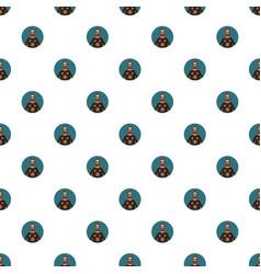 Man portrait pattern vector