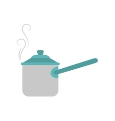 Saucepan icon Kitchen and cooking design vector
