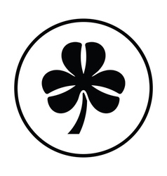 Shamrock icon vector image