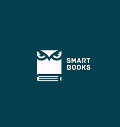 smart books logo vector image