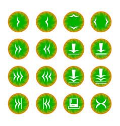 web icon 16 vector image