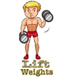 Weights vector
