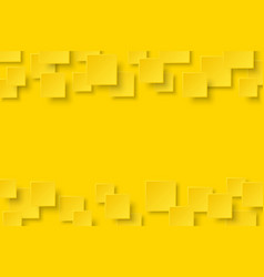 Yellow modern abstract background vector