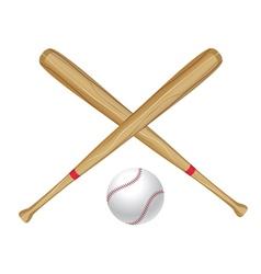 Baseball Bat and Ball2 vector