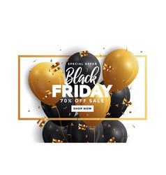 Black friday sale banner 2 vector