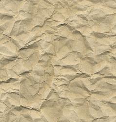 Cardboard crushed paper vector