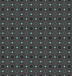 Colored dark gray with blue bright pointy squares vector image