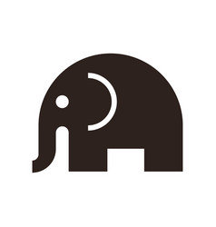 Elephant sign vector
