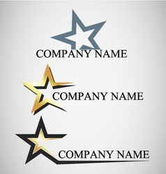Emblem for company vector