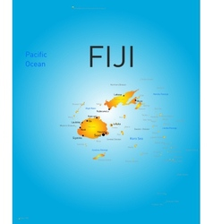 Fiji country vector
