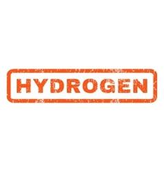Hydrogen Rubber Stamp vector