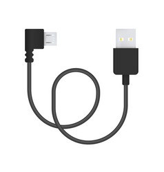 Micro-usb cable vector