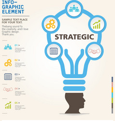 modern info-grapgic design template vector image