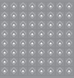 White multiple diamond shape emblem set pattern vector