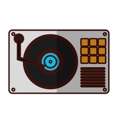 turntable music icon image vector image vector image