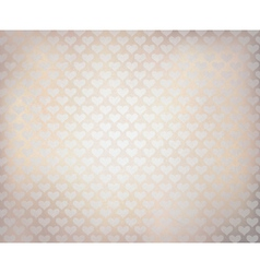 white hearts texture vector image vector image