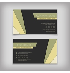 3306 business cards 03 vector image
