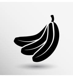 Banana Fruit infographic logo simple icon vector image