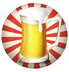 Beer vector image