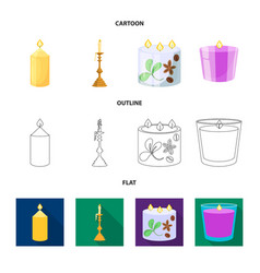 Design of relaxation and flame sign vector