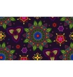 Hand drawn Mandala Floral Design Element vector image vector image