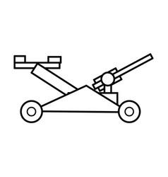mower garden tool vector image