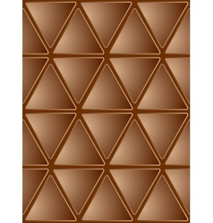 Seamless Brown Mosaic Background vector image vector image
