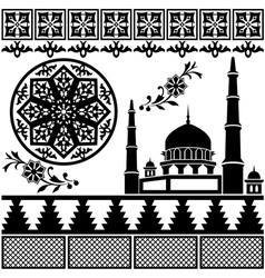 Islamic pattern vector image vector image