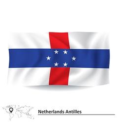 Flag of Netherlands Antilles vector image