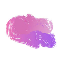 Abstract aquarelle ink blob spot colorful vector