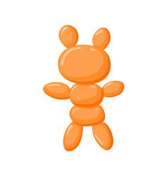 animal balloons balloon animals for happy vector image