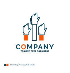 Aspiration business desire employee intent logo vector