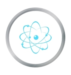 Atom icon cartoon Single education icon from the vector