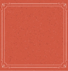 Christmas vintage retro background with frame vector image