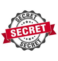 Secret stamp sign seal vector