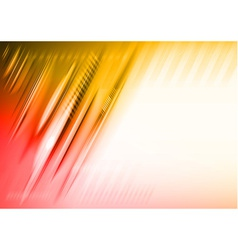 abstract lines red vector image