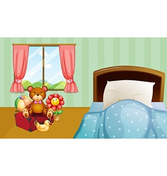Children bedroom vector image