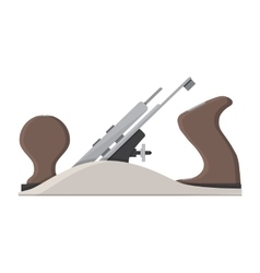Jointer plane hand tool for carpentry vector