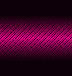 pink line abstract background with dark gradient vector image vector image